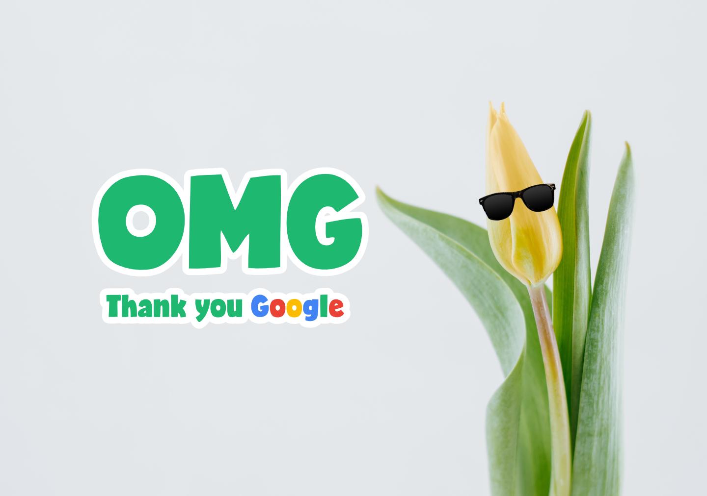 google tulip thank you